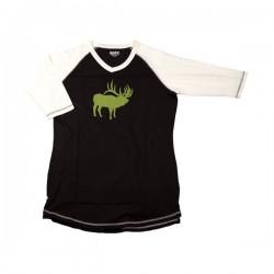 Длинная женская футболка Elk