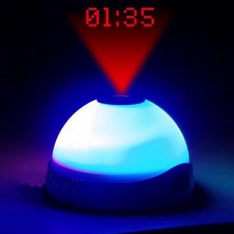 Projektoriga öölamp-äratuskell