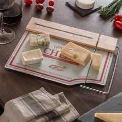 Кухонная доска с сырорезкой