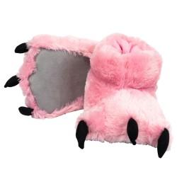 Тапочки лапы Розового Медведя