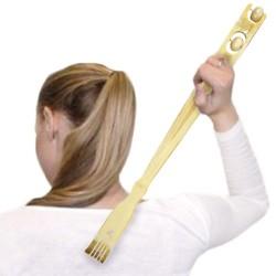 Бамбуковый Массажер-Чесалка