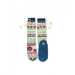 Носки-тапочки Flower