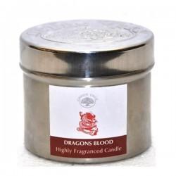 Lõhnaküünal metallpurgis -Dragon