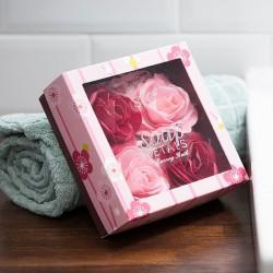 подарочное мыло 4 Розы