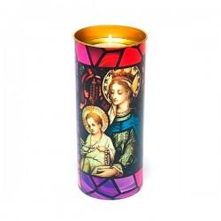 Свеча Mary and Jesus