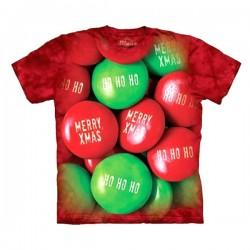 3D prindiga T-särk lastele Christmas Candy