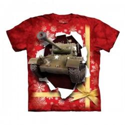 3D prindiga T-särk lastele Tank Present