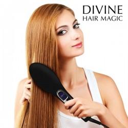 Щетка -электрический выпрямитель волос Bushture