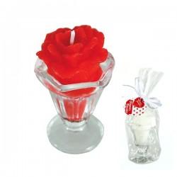 Küünal Roos klaasis