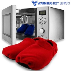 подогреваемые тапки Warm Hug Feet