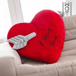 Мягкое сердечко I Love You 60 см