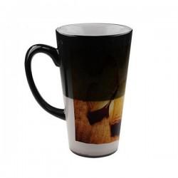 Большая Меняющая цвет Фотокружка Latte, 450мл
