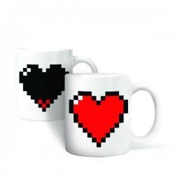 Термокружка Pixel Heart