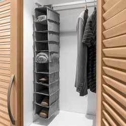 Подвесной органайзер для Одежды (10 отделений)