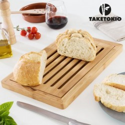 Бамбуковая Доска для Резки Хлеба
