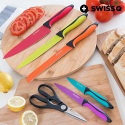 Стальные Ножи Swiss Q (6 тк)