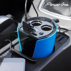 Multi-laadimisadapter autosse