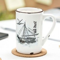 Retro Tass Sail Away