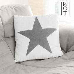Dekoratiivpadi Star White, 36 x 36cm