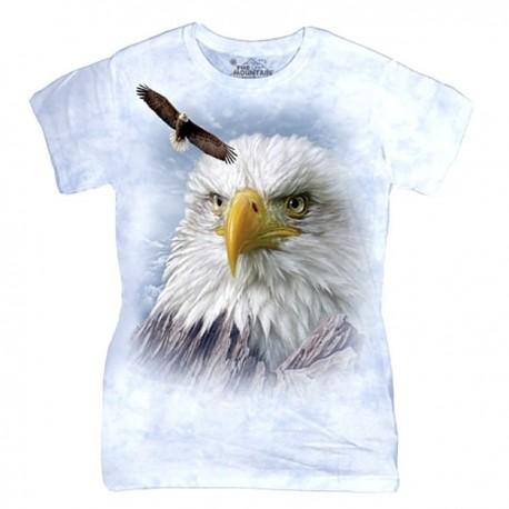 3D prindiga naiste T-särk Eagle
