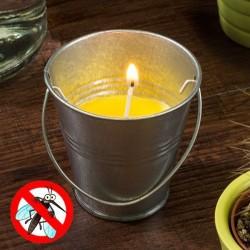 свеча от насекомых Citronella в ведёрке