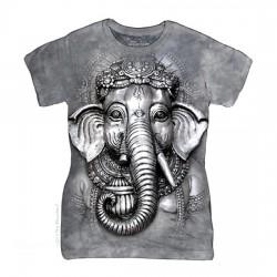 женская футболка с 3D принтом Ganesh