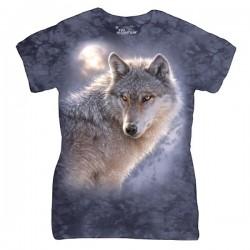 женская футболка с 3D принтом Adventure Wolf