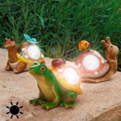 Декоративная Фигурка для Сада на Солнечной Батарее