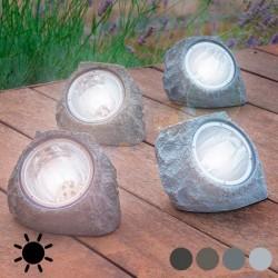 Päikesepatareidega kivi-valgusti