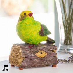 Птица со звуком и датчиком движения