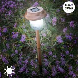 Стильная Садовая Лампа на Солнечной Батарее