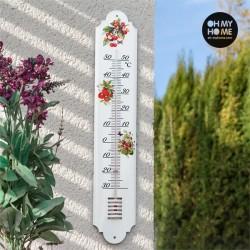 Белый Садовый Термометр