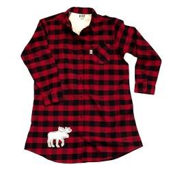 ночная рубашка Flannel Moose