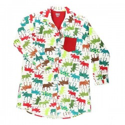 ночная рубашка Pattern Moose