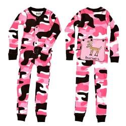 laste pidžaama Flapjack Pink Camo