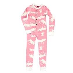 Детская Пижама Flapjack Pink Moose
