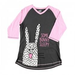 Длинная женская футболка Bunny