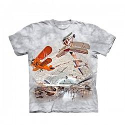 футболка с 3D принтом Boeing Aviation