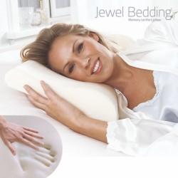 Подушка для шеи из пены памяти Jewel Bedding