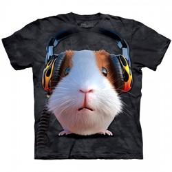 3D prindiga T-särk DJ Guinea Pig