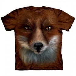 футболка с 3D принтом Лисица