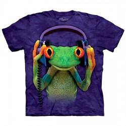 детская футболка с 3D принтом DJ Peace