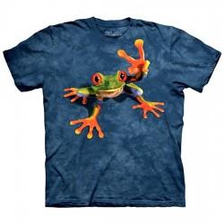 3D prindiga T-särk lastele Victory Frog