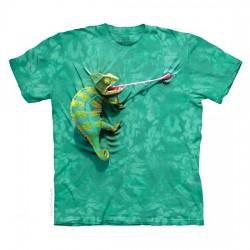 3D prindiga T-särk lastele Chameleon