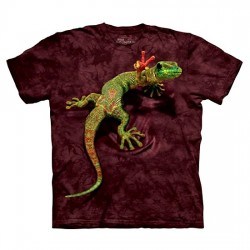 3D prindiga T-särk Peace Out Gecko