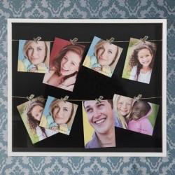 Pildiraam klambritega (8 fotot)