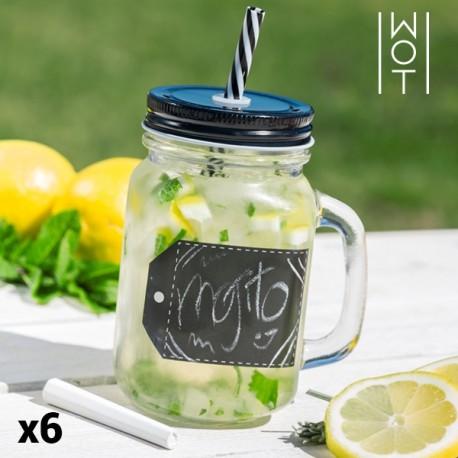 Kriidiga Purk-Joogiklaaside komplekt (6 x 450 ml)