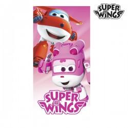 Пляжное Полотенце Pink Super Wings