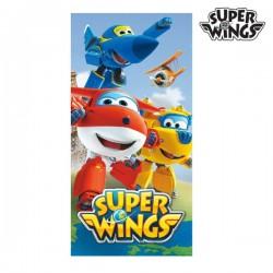 Пляжное Полотенце Blue Pink Super Wings