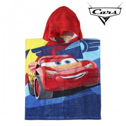 Пончо-Полотенце с Капюшоном Cars